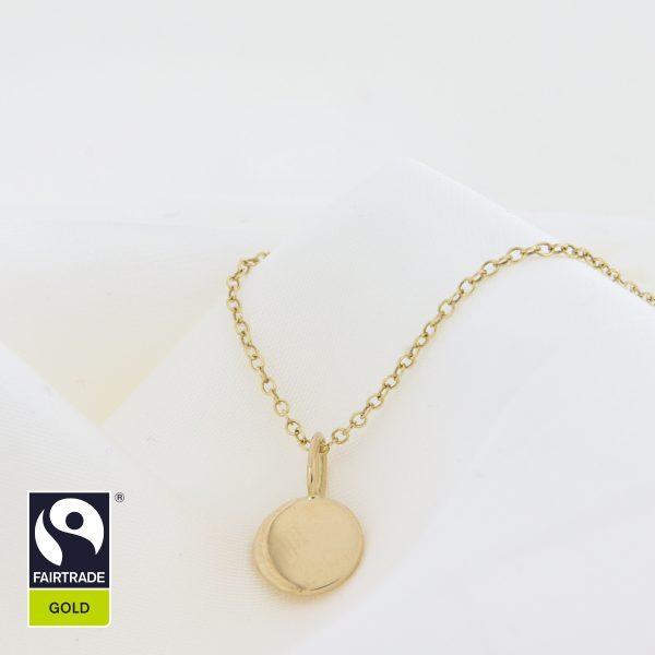 Anhänger Gold Fairtrade