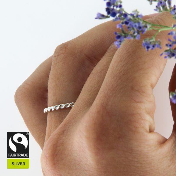 Silberring Fairtrade